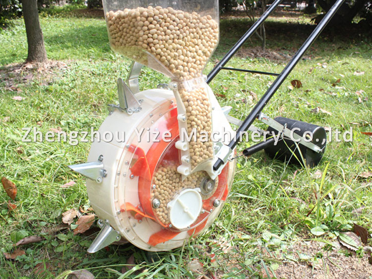 Widely Used Hand Push Bean Precision Seeder Corn Seed