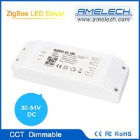 embedded zigbee technology 30-54v dimming led driver for led panel light 54w