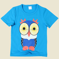 Custom design high quality cotton printed kids boy clothing fashion