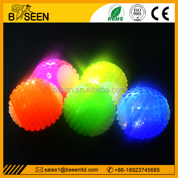 Hot selling pet toy ball led dog ball bouncing ball