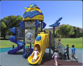 Popular and high quality imported Plastic kids outdoor playground equipment