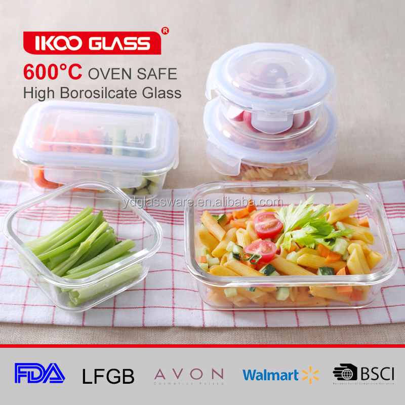food warmer glass leakproof heated bento lunch box and container