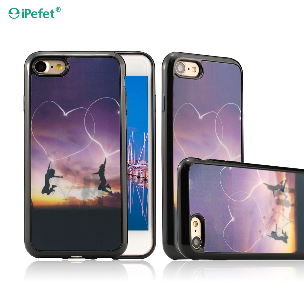 Colorful Smartphone Custom 3D Silicone Lenticular Phone Cover Case for iPhone and for Samsung