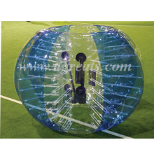 Big discount inflatable human bubble suits cheap bubble soccer ball for sale W7133