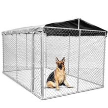 Australia hot sale Good quality Galvanized dog kennel