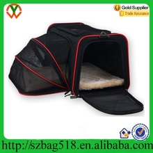Foldable Washable Travel Pet Carrier Airline Approved Expandable Pet Carrier