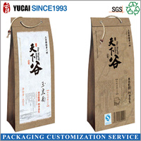 2015 Convenient Food Paper Bag for shopping