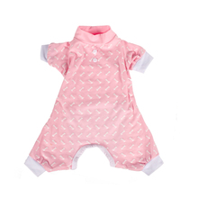 Fashion Designer Wholesale High Quality Cotton Pet Summer Pink Dog Clothes