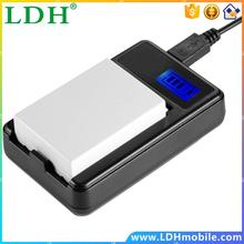 USB Rechargeable LCD Display Battery Black Charger for Canon LP-E8 Wholesale