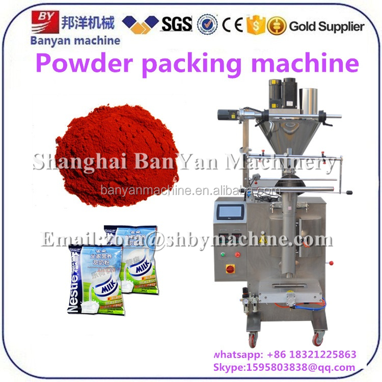 Automatic Corn starch curry bag washing powder 2 weighting 19 sealing packaging machine price 700g