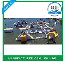 Professional manufacturer inflatable obstacle course inflatable maze, inflatable water obstacle course for sale