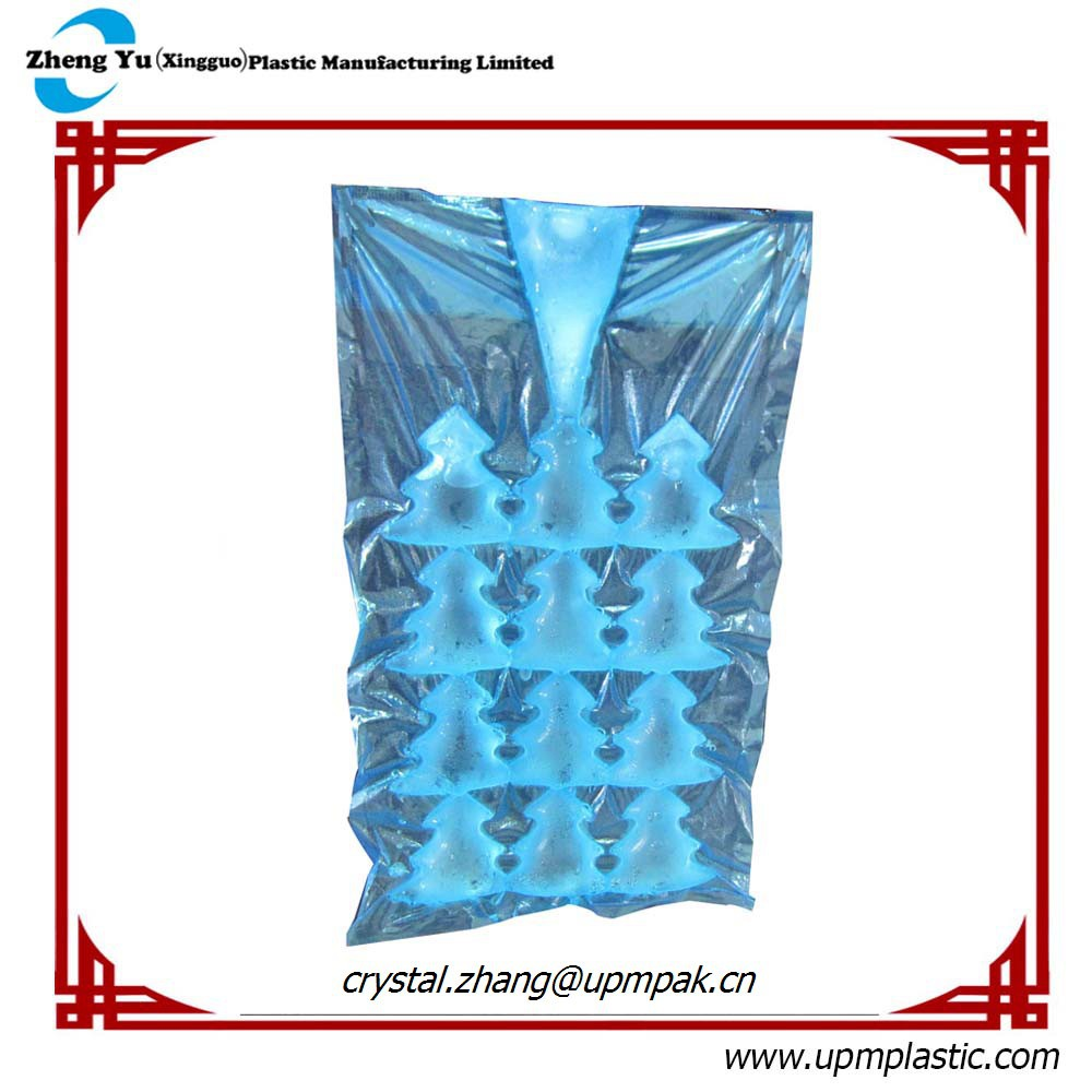 Christmas Tree LDPE Disposable Ice Cube Bag