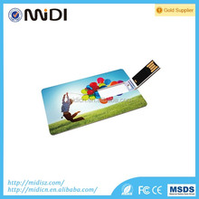 2016 Slim business Card Pen Drive 4gb-64gb, Custom logo Credit Card Usb Flash memory, Usb Flash Drive Credit Card