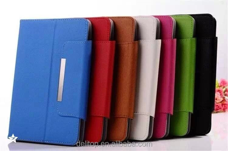 "Universal PU Leather Folio Flip Case Cover Fit For 7"" 8"" 10"" Tablets PC"