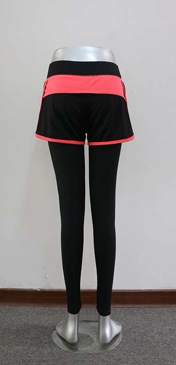 Wholesale Yiwu Cotton Spandex Skirted Leggings