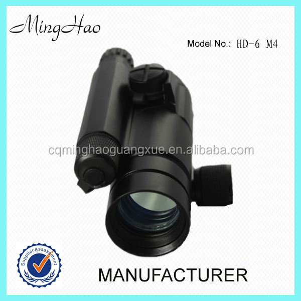 HD-6 M4 , red dot reflex scope with quick detach mount