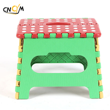 PP folding stool, foldable step stool, small outdoor plastic stool