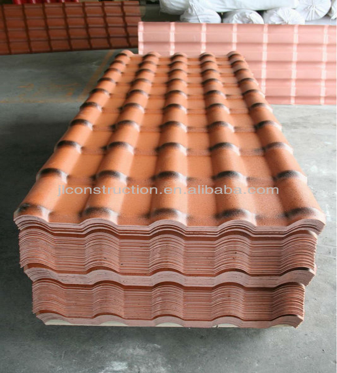 Cheap roofing materials light weight plastic factory roof for Cheap construction materials