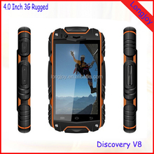 "China Wholesale Low Cost 4"" Touch Screen Dual Core 3G Dual SIM Android 4.2 Rugged IP67 Waterproof Mobile Phone"