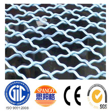 decorative or honeycomb fireplace curtain crimped wire mesh