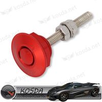 Racing Car Universal Aluminum Alloy Bonnet Hood Pins Lock For Auto Exterior Accessories