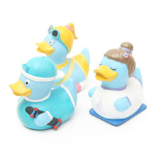 Hot Selling Funny Soft German Rubber Duck bath Toys