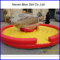 New Design Exciting Inflatable Rodeo Mechanical Bull Ride for Sale