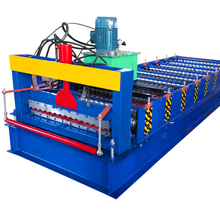 arc waves corrugated aluminum sheets roofing steel sheet metal roll forming machine for sale
