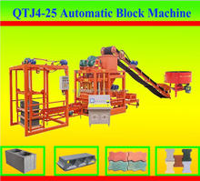 shandong shengya cheap price construction automaic concrete block making machinery for sale, cement brick making machine