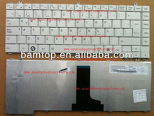 Layout Spanish laptop keyboard for Toshiba Satellite C645D L600D L645 L645D white color MP-09M76LA69301 6037B0052134