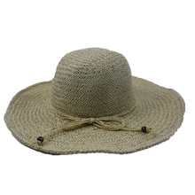 Wholesale customize cheap hot sell straw fashion women's hat