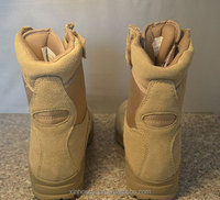Blank khaki strong outdoor leather bulk size military man boots
