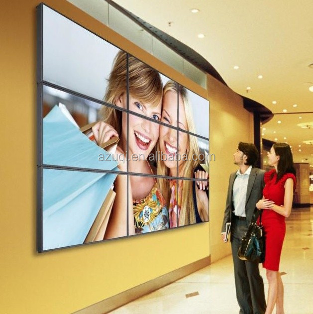 Hot sale for 46 inch lcd 6.3mm narrow bezel video wall
