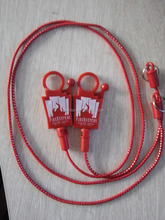 "2016 22"" Promotional Casino Bungee Cord lanyard Split Ring wholesale"