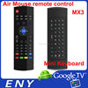 NEW MX3 IR remote mini Wireless Keyboard with voice function For Google Tv Box Keyboard