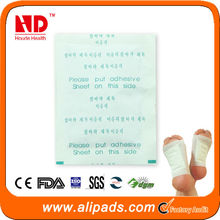 OEM service! bamboo slimming detox foot patch