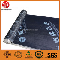 flexible SBS-rubberized asphalt sheet with high adhesive quality