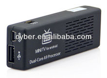 Good quality mini pc MK808 with RK3066 Cortex-A9 Renesas Dual Core Up to 1.6GHZ