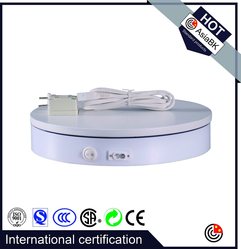 Daniel recommend motorized display turntable stand 3D revolving for Modern Christmas