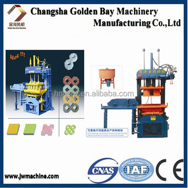 Paving block Making Machine Concrete block Making Machine,a manual concrete mixer,cheap block making machine