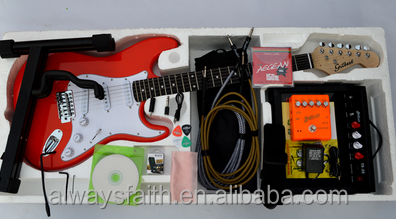 Wholesale High Quality Suitable Price ST Electric Guitar Kit
