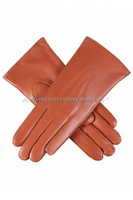 Women's Fur Lined sheepskin Leather Gloves