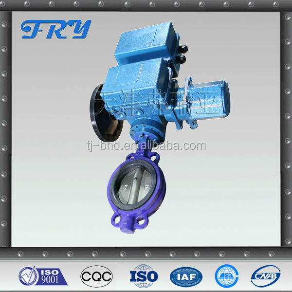 Electric Control Butterfly Valve for water,air,gas,oil