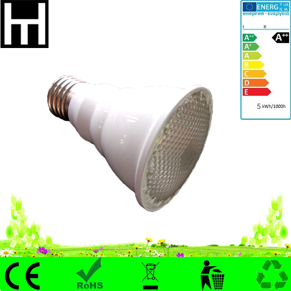 120degree white silver aluminium customized red blue grow light 10w e27 Par20 growing led light for plant growth