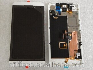 Replacement LCD assembly WITH FRAME For Blackberry Z10 4G