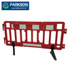 Taiwan Stackable Water Fill Barrier Industrial Road Pedestrian Marason Safety Fence SWB-002