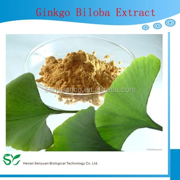 Water soluble ginkgo biloba leaf extract
