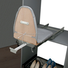whole sale folding wood ironing board cabinet with storage .