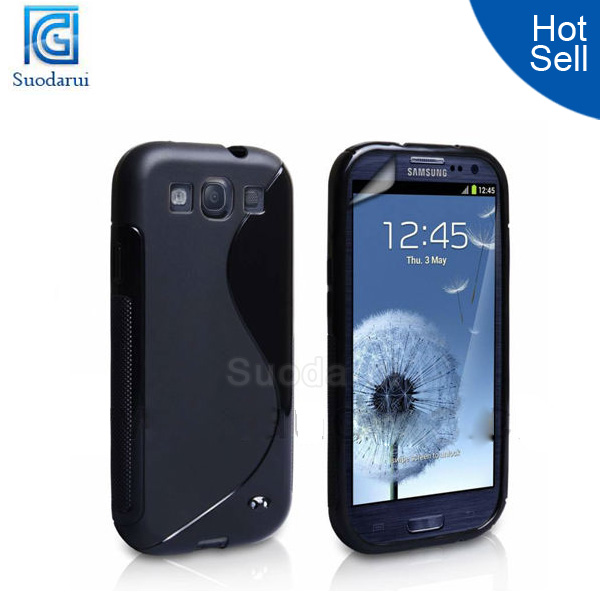 Gloosy TPU Gel back cover case for samsung galaxy grand duos