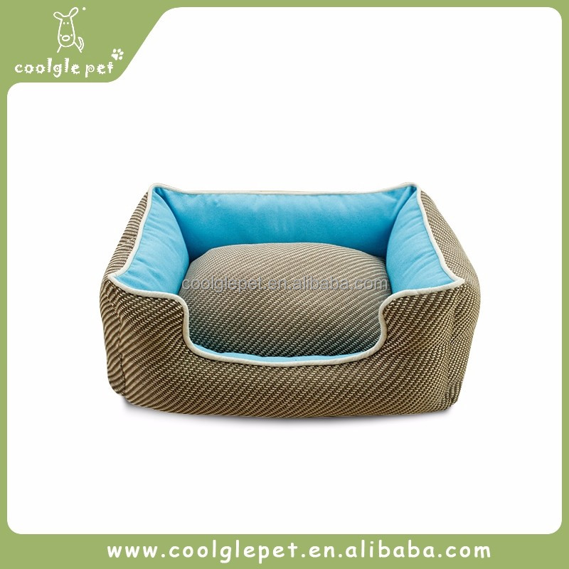 Classic Diagonal Large Pets New Design Dog Bed Warm Fancy House Dog Cotton Bed